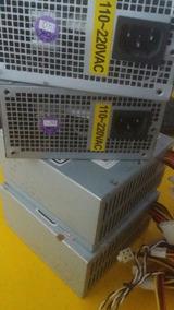 Lote 4x Fonte Mini Atx 250/300w Sata Ide 24 Pinos
