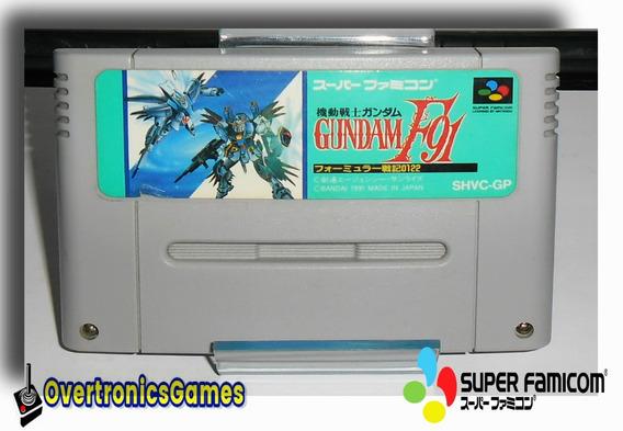 Snes Jogo Kidou Senshi Gundan F91 Super Famicom