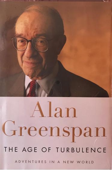 The Age Of Turbulence - Alan Greenspan -- Novo E Lacrado