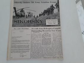 Jornal Antigo Década De 60 The Sikorsky News!!!