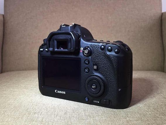 Câmera Canon 6d - Impecável!