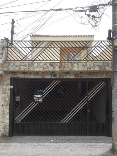 Imagem 1 de 24 de Excelente Sobrado De 218 M² Na Cidade São Jorge - Ca00529 - 34608544