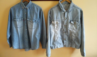 Camisa Jeans + Campera / Chaqueta Jeans