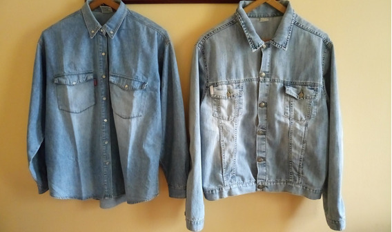 Camisa Jeans + Campera / Chaqueta Jeans
