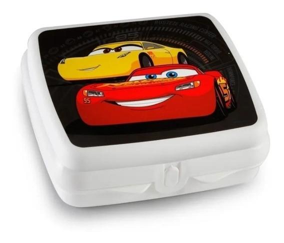 Tupperware Sandwichera 650ml Cars Disney