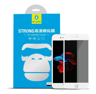 Mica Cristal Templado iPhone 8 7 6 Plus Privacidad 3d Premiu