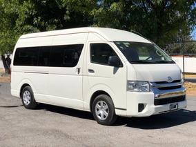 Toyota Hiace 2.7 Bus 15 Pas Mt 2017 Facilidades