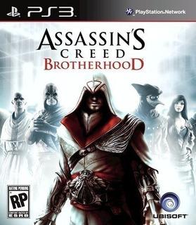 Assassin´s Creed Brotherhood - Ps3 Fisico