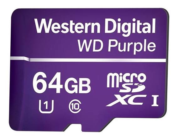 Cartão De Memória Micro Sd Intelbras 64gb Intelbras