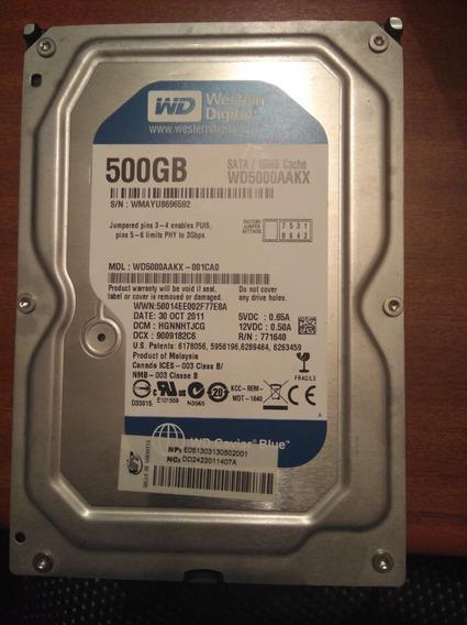 Disco Duro Wd 500gb (reparación O Repuesto)