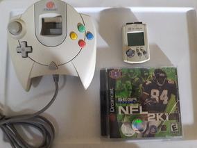 Vendo Control, Visual Memory Y Juego Para Dreamcast