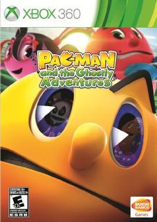 Juegos,pac-man Y Las Aventuras Fantasmales - Xbox 360..