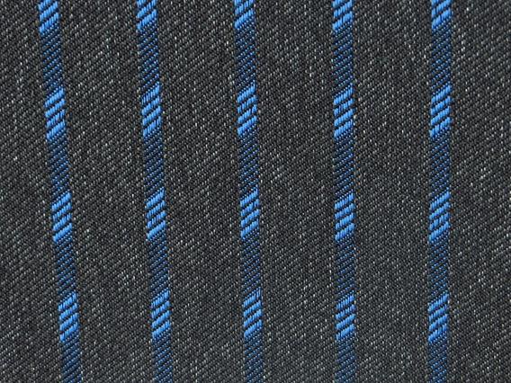 Tecido Recaro Gol Gti / Gts - Tear Arpoador Azul