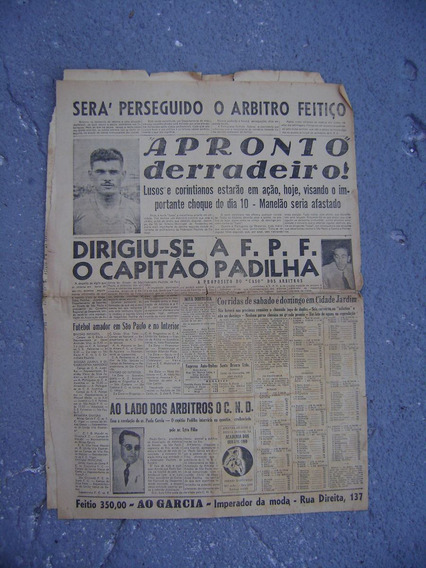 Jornal A Noite S. Paulo 1947