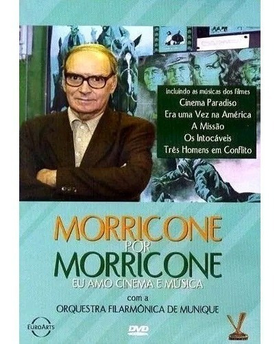 Morricone Por Morricone - Eu Amo Cinema E Música - Dvd