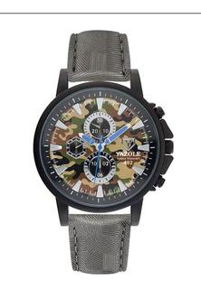 Cod 990 - Reloj Yazole Camuflado - Joyas Margaret