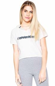 Moletom Fechado Calvin Klein Logo Bege Com Capuz Feminino