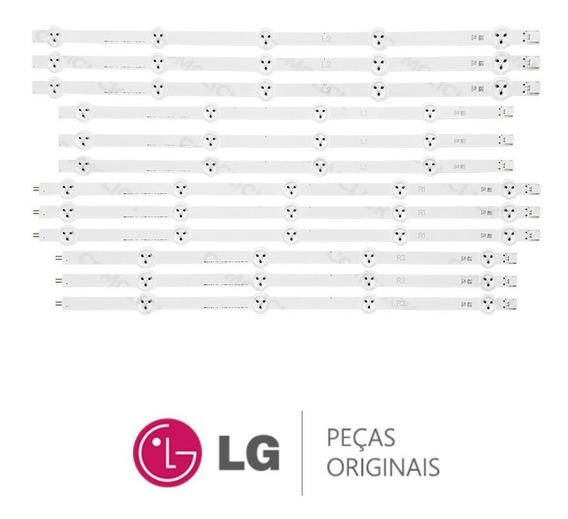 Kit Completo Barra De Led Lg 47la6130, 47la6200, 47la6204