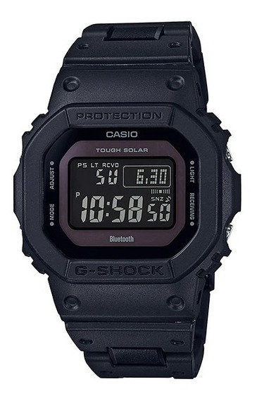 Relogio Casio G-shock Gw-b5600bc-1b Bluetooth Touch Solar