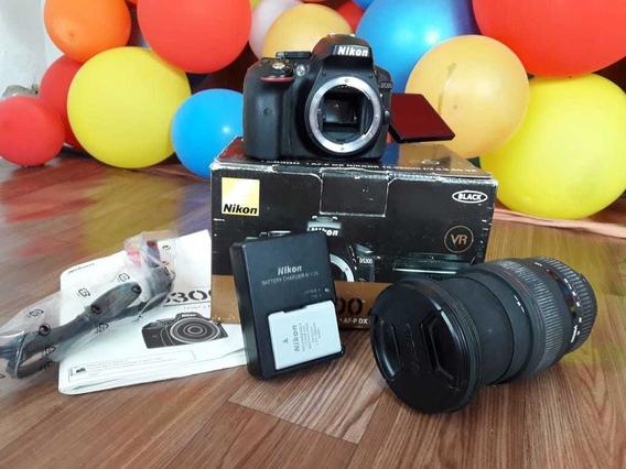 Câmera Nikon 5300 + Lente Sigma 24 -70 2.8 F