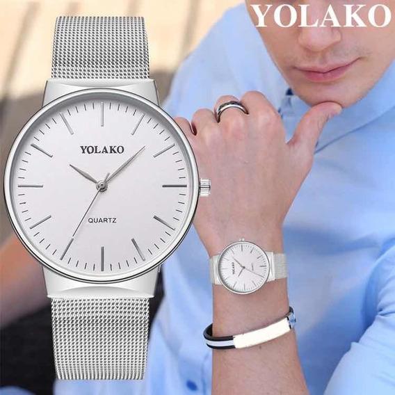 Reloj Para Hombre Moderno Caballero
