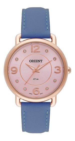Relógio Feminino Orient Analógico Frsc0006 R2dx Dourado
