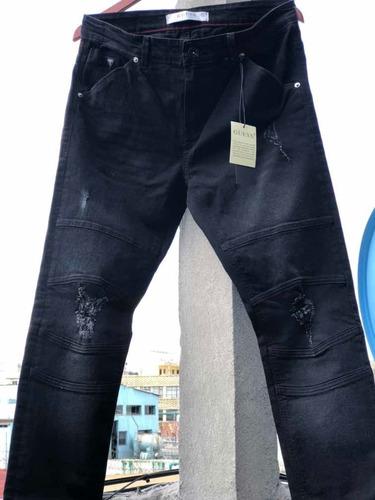 Pantalon Guess Mezclilla Moto De Hombre 100 Nuevo Original Mercado Libre