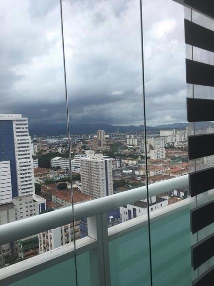 Conjunto Em Boqueirão, Santos/sp De 44m² À Venda Por R$ 380.000,00 - Cj361610