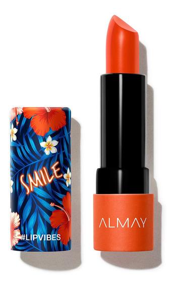 Labial En Barra Lip Vibes Lipstick Color Intenso Almay