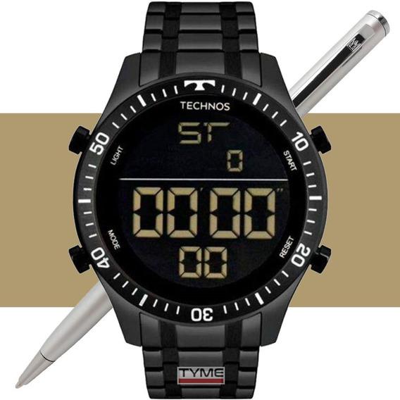 Relógio Technos Masculino Digital T02139ab/4p C/ Nota Fiscal