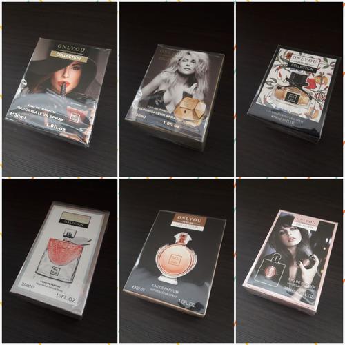 Imagen 1 de 6 de Perfumes Mini 30ml Onlyou Varias Fragancias X 6 Unidades