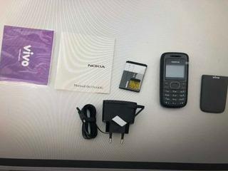 Celular Nokia 1208 B Ligando Com Defeito Ref:q40. Leiam!