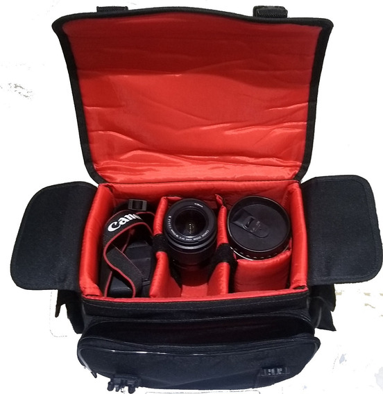 Capa Case West Olimpic Canon T2 T3 T4 T5 5d 6d 7d 60d T7i