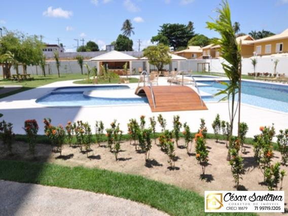 Apartamento 3/4 Suite E Varanda - Especiale Total Residence - Lauro De Freitas - Ap00612 - 33759285