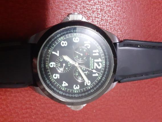 Relógio Magnum Multifunction Calendário Ma31631j