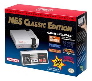 Nintendo Nes Classic Edition Consola Mini 30 Juegos Original