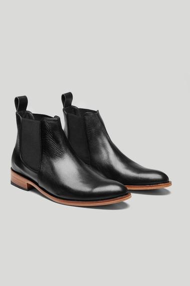 Bota Zapato Hombre De Cuero De Vestir 1era Calidad