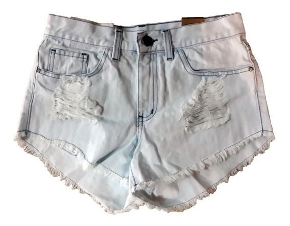 Short Jean Vintage Denim | Am Blue (46250)