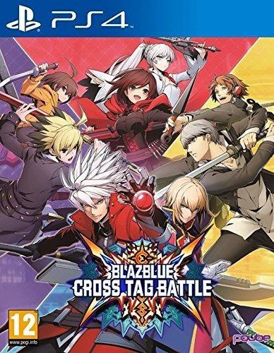 Mídia Física Blazblue Cross Tag Battle Ps4 - Novo E Lacrado!