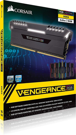 Memoria Corsair Vengeance 16gb 2x8 Ddr4 2666mhz Env Imediato