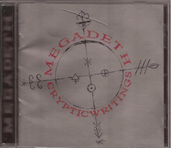 Cd Megadeth Cryptic Writings ( En Excelente Estado)