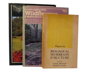 Lote 3 Livros Biologia E Jardinagem Inglês E Espanhol B5822