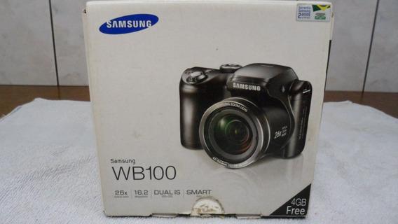 Camera Samsung Wb100 Sem Uso Ok Na Caixa Novissima
