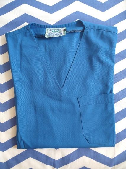 Chaqueta De Ambo Médico Dama Azul Francia Xs Marca Arciel