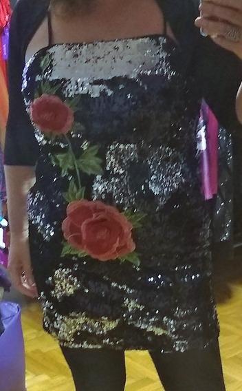 Vestido Lentejuelas Talle Xxxl
