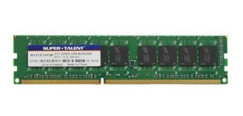 Memoria Ram 8gb Super Talent Ddr3-1333 Ecc Micron Chip Server W1333eb8gm