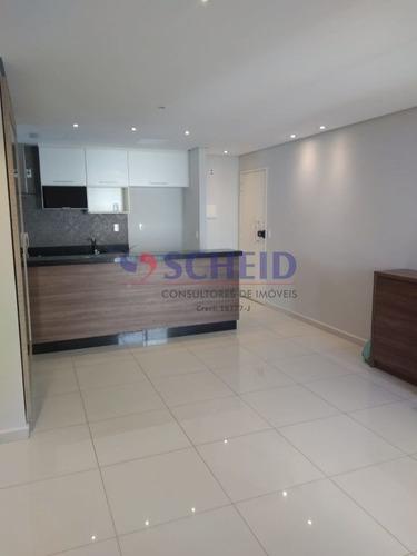 Lindo Apartamento Com Sala Ampliada 2 Dorms 2 Banheiros 73m 2 Vagas!!!! - Mr75040