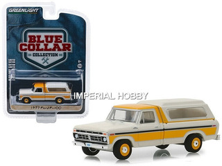 Ford F-100 1977 With Camper Shell Clasica- T Greenlight 1/64