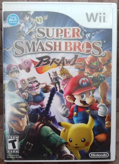 Game Super Smash Bros Brawl - Nintendo Wii - Original