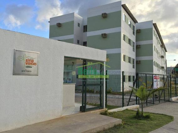 Apartamento À Venda, 48 M² Por R$ 95.000,00 - Inhamã - Igarassu/pe - Ap1464